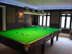 snooker, room, bespoke