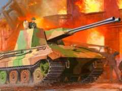 танк, trumpeter, german