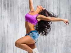 девушка, танцует, dance