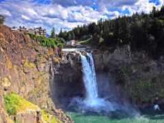 водопад, falls, панели