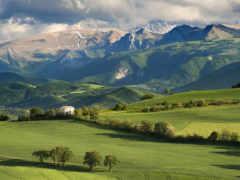 горы, небо, oblaka Фон № 144638 разрешение 1920x1200