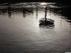 нил, река, отражение