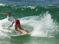 спорт, сёрфинг, девушка