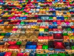 market, ночь, bangkok