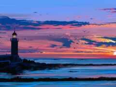 закат, landscape, арта