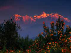 гималаи, гора, nepal