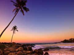 берег, океана, fone
