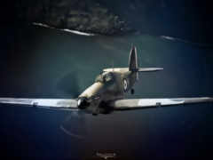 рисованые, самолёт, красивые