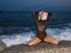 liza, sea, wave sexy
