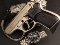 часы, rolex, пистолет