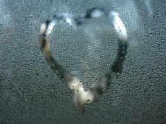 сердце, glass, плачущий