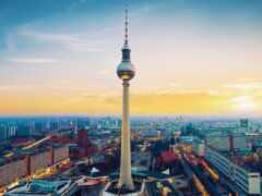 город, море, berlin
