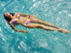 water, девушка, бассейн