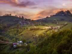 romanian, деревня, romania