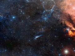 космос, звезды туманность