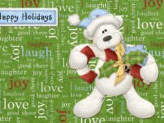 happy, holidays