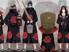 itachi uchiha, костюм, верхняя одежда