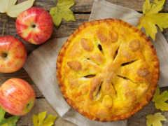 яблочный, пирог, день