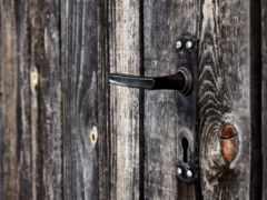 дверная ручка, защелка