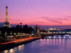 париж, ночь, франция