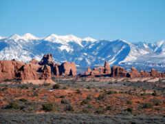 гора, пустыня, park