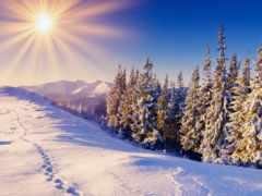 пейзажи -, зимние