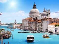 италия, канал, здание