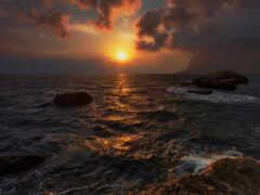 море, айя, sun