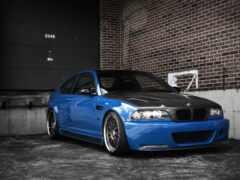 coupe, blue, car