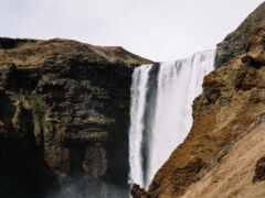 фото, водопад, iceland