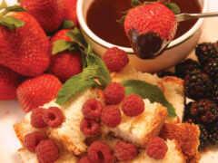 chocolate, fondue, myat