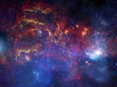 galaxy, cosmos, путь