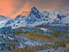 north, america, гора