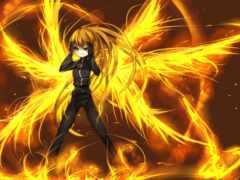 anime, anim, огонь