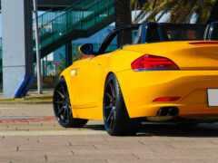 кабриолет, yellow