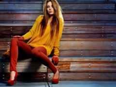 девушка, firestock, стильная