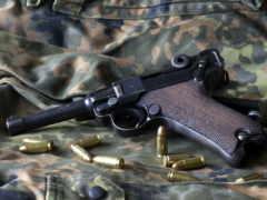 luger, пистолет, оружие