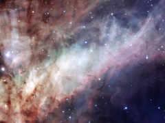 телескоп, сине