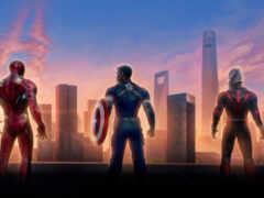 супергерой, фотообои, avenger