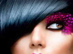 макияж, девушка, fashion
