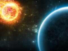 солнечный, космос, estrella