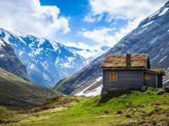 house, сказочный, скандинавский