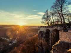 fortress, закат, германия