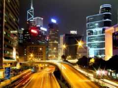 ночь, город, виды