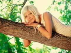 блондинки, девушка, красивые