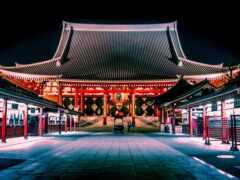 япония, город, asakusa