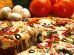 пицца, pour, tari