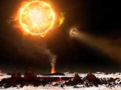 взрыв, космос, красивый