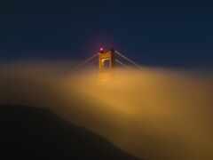 мост, gate, золотистый