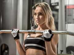 фитнес, sporty, blonde